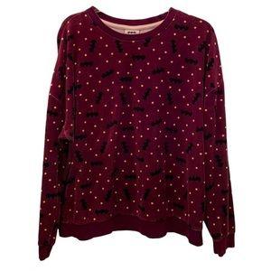 ❤️🔥4 For $25❤️🔥 DC Comics Batman Pajama Top Plus Size Women's XXL